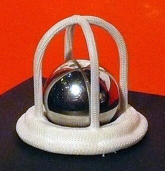 Artificial heart valve - Caged ball valve