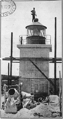 StateLibQld 1 119568 Construction of the lighthouse at Point Lookout, 1932.jpg