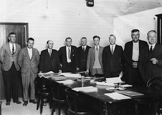 Town of Coolangatta - Aldermen of the Coolangatta Town Council in 1933