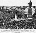 StateLibQld 2 213392 Unveiling a statue of Thomas Joseph Ryan at Queen's Park, Brisbane, 1925.jpg