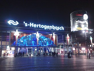 's-Hertogenbosch railway station - Station entrance