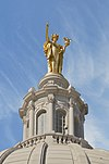"Statue atop the Wisconsin State Capitol Building titled ""Wisconsin"".jpg"