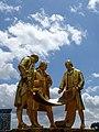 Statue of Boulton, Watt & Murdoch - Birmingham - England - 02 (28227278755).jpg