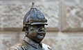 Statue of a Hungarian policeman on Zrínyi utca in Budapest.jpg