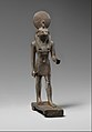 Statuette of Horus, lord of Sekhem (Letopolis) MET DP259605.jpg