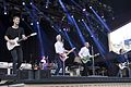 Status Quo, with Freddie Edwards standing in for Rick Parfitt, Status Quo, with Freddie Edwards standing in for Rick Parfitt, live at Gröna Lund, Stockholm, Sweden, July 2016.jpg