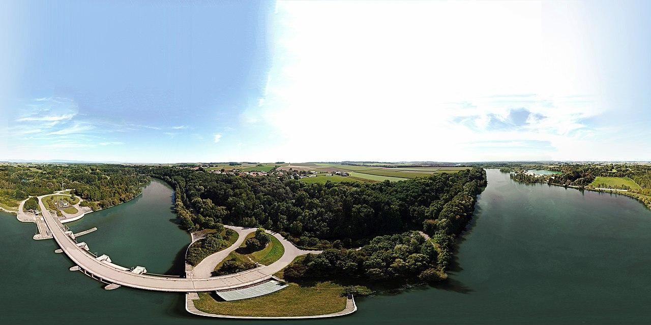Staustufe Ettling 360° Panorama