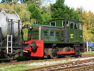 John Fowler & Co. - Fowler shunter on South Devon Railway