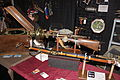 Steampunk blunderbuss and rifle byTim Hammell Department 25 2013 Calgary Expo 2.jpg