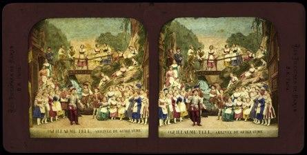 Stereokort, Guillaume Tell 1, Arrivée de Guillaume - SMV - S150b.tif