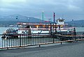 Sternwheeler Columbia Gorge with Christmas lights, at Cascade Locks dock.jpg