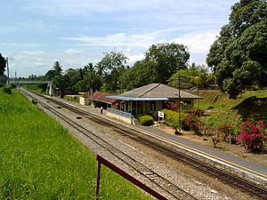 Labis - Labis Railway Station