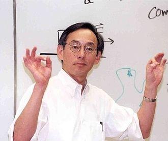 Steven Chu - Steven Chu lecturing.