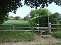 Stile to footpath off Hundhill Lane. - geograph.org.uk - 439847.jpg