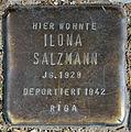 Stolperstein Dieffenbachstr 45 (Kreuzb) Ilona Salzmann.jpg