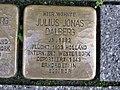 Stolperstein Julius Jonas Dalberg, 1, Friedrich-Ebert-Straße 3, Mitte, Kassel.jpg