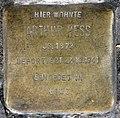 Stolperstein Reichsstr 106 (Weste) Arthur Hess.jpg