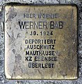 Stolperstein Schönhauser Allee 187 (Prenz) Werner Bab.jpg