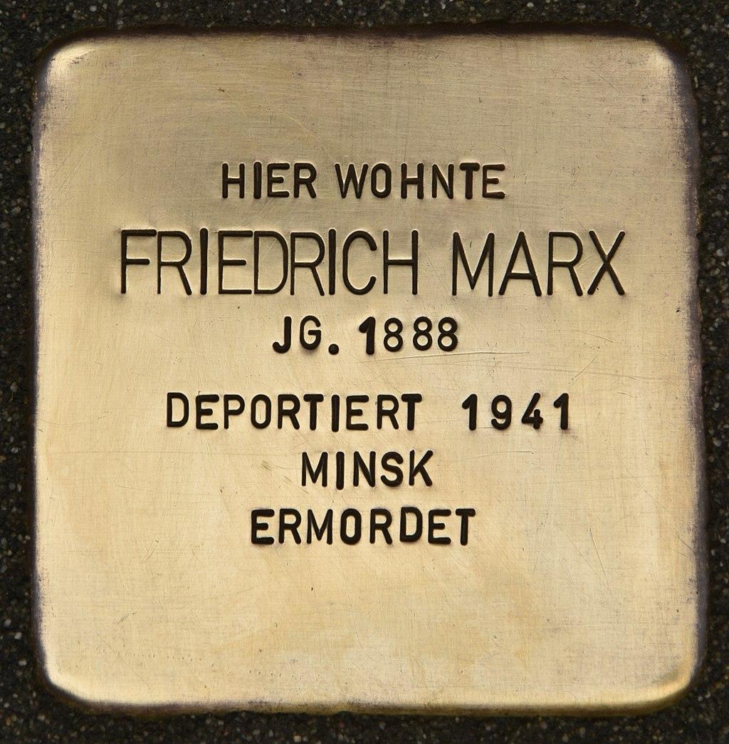 Stolperstein für Friedrich Marx (Miltenberg).jpg