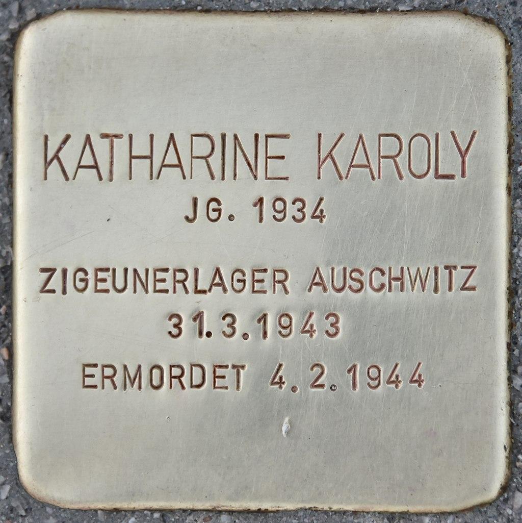 Stolperstein für Katharine Karoly (Wiener Neustadt).jpg
