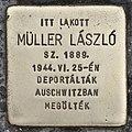 Stolperstein für Laszlo Müller (Szeged).jpg