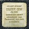 Stolpersteine Colette Cerf Mondorf-les-Bains, Allée Jean Linster 01.jpg