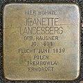 Stolpersteine Köln, Jeanette Landesberg (Görresstraße 15).jpg