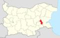 Straldzha Municipality Within Bulgaria.png