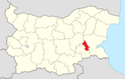 Straldzha Municipality Within Bulgaria.png