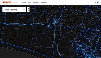 Purworejo Regency - Kutoarjo-Purworejo (Central Java) - Wates (Yogyakarta) cycling heatmap via Strava