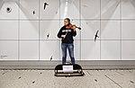 Street musician in Brussels Central Station (DSCF7054).jpg