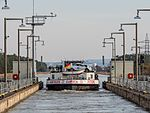 Strullendorf Schleuse Schiff Euroca P2RM0082.jpg