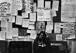 Students notice board, 1973.jpg