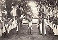 Students practicing gymnastics in Kerala (1905).jpg
