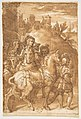 Study for the Armistice between King Francis I of France and Emperor Charles V, fresco in the Palazzo Farnese, Caprarola MET DP812297.jpg