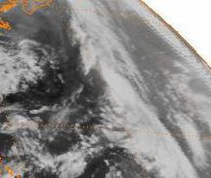 1984 Atlantic hurricane season - Image: Subtropical Storm One (1984)