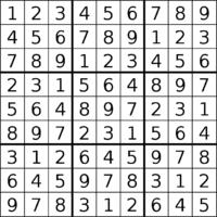 Mathematics of Sudoku - Wikipedia