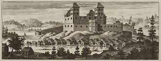 Häme Castle - Häme Castle at the end of the 1650s