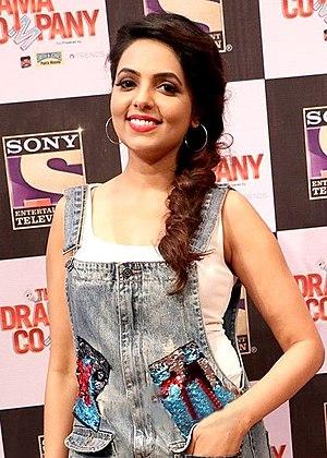 Sugandha Mishra - Sugandha at the press conference of The Drama Company
