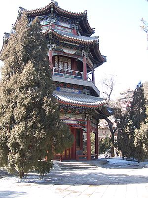 English: Summer Palace at Beijing, China Deuts...