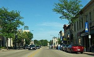 Sun Prairie, Wisconsin - Downtown Sun Prairie