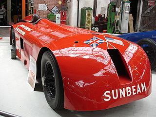 Sunbeam 1000 hp Motor vehicle