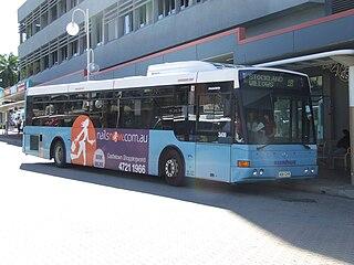 Sunbus Townsville Australian bus operator