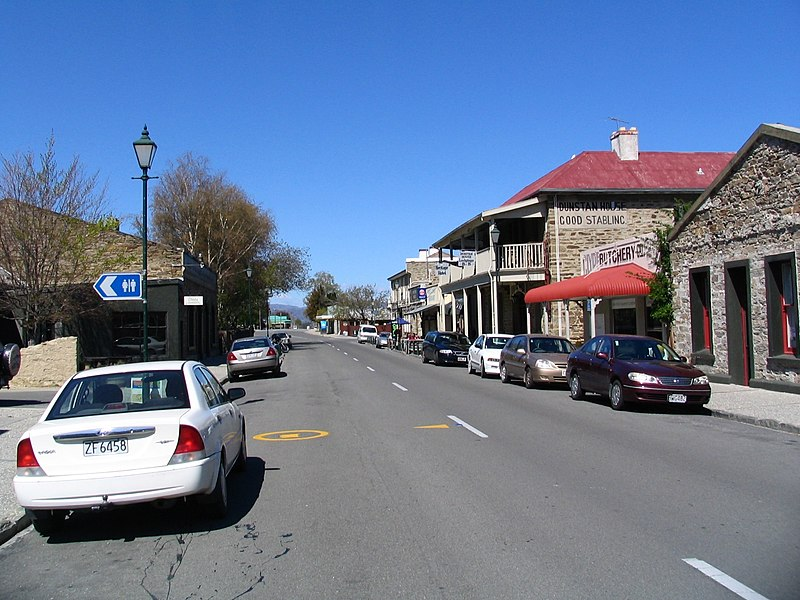 Clyde New Zealand  City pictures : Sunderland Street, Clyde, Otago, New Zealand Wikimedia ...