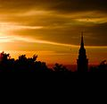 Sunrise in Subotica(City Hall),Serbia.jpg