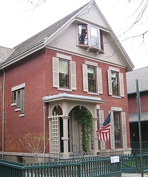 Susan B. Anthony House - A 2007 photograph of the Susan B Anthony House