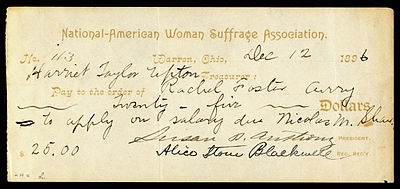 Susan B. Anthony & Alice Stone Blackwell signed NAWSA check.jpg
