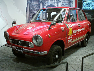 Suzuki Fronte - 1968 Fronte SS 360 as driven by Stirling Moss