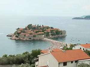 Die Hotelinsel Sveti Stefan