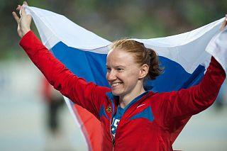 Svetlana Feofanova Russian pole vaulter